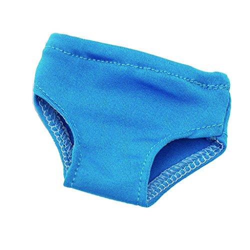 Gazechimp Puppe Unterwäsche Unterhose Slip Schlüpfer aus Baumwolle Für 18
