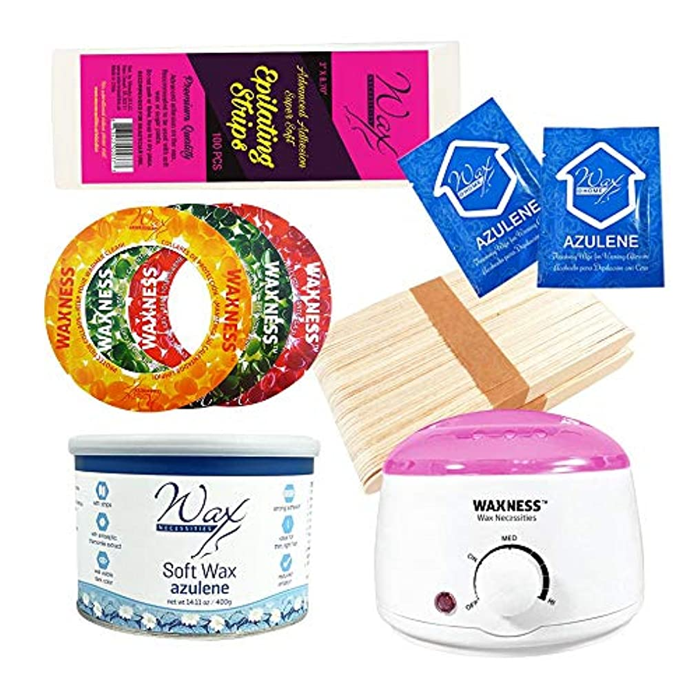 Wax Necessities Strip Waxing Kit