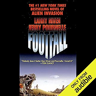 Footfall                   By:                                                                                                                                 Larry Niven,                                                                                        Jerry Pournelle                               Narrated by:                                                                                                                                 MacLeod Andrews                      Length: 24 hrs and 34 mins     1,653 ratings     Overall 3.9