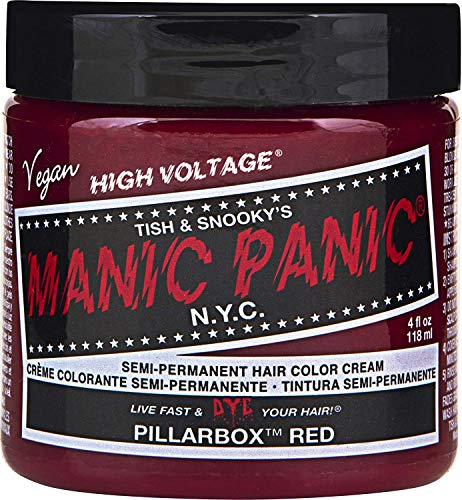 Manic Panic - Pillarbox Red Classic Creme Vegan Cruelty Free Semi-Permanent Hair Colour 118ml