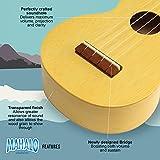 Immagine 2 mahalo kahiko crema raso ukulele