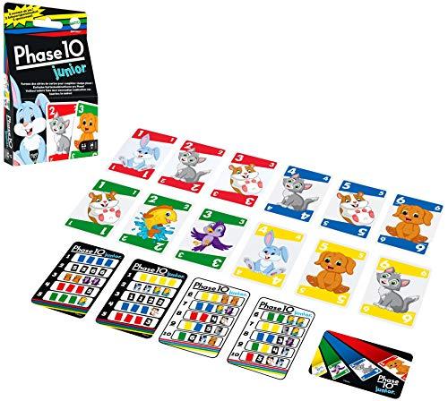 Mattel Games GXX06 - Phase10 Junior Kartenspiel, ab 4Jahren