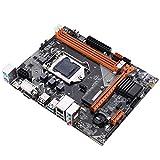 WERTYU Procesadores De Computadora Placa Base Fit For Kllisre B75 Motterboard M.2 LGA1155 para I3 I5 I7 CPU Support DDR3 Memory