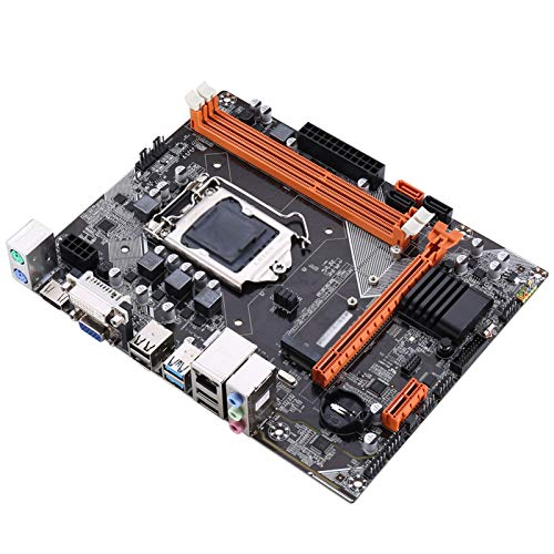 ACD Placa Base Procesadores De Computadora Placa Base Fit For Kllisre B75 Motterboard M.2 LGA1155 para I3 I5 I7 CPU Support DDR3 Memory