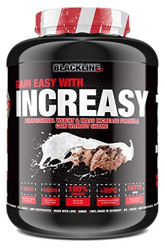 sinob Increasy Weight Gainer Schokolade Sahne 1 x 3500g. Whey Protein und Kohlenhydrate Pulver für schnelle Gewichtzunahme. Optimal für Muskelaufbau und Masseaufbau.