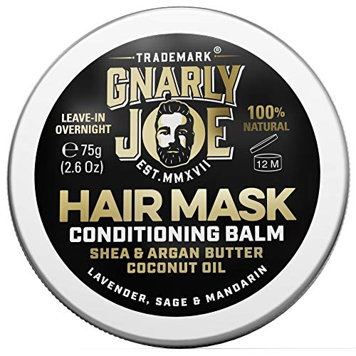 Gnarly Joe Hair Mask. Intensive Hair Conditioner Balm for Men. Leave-In...