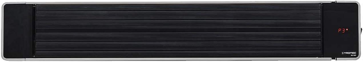 TROTEC Calefactor por radiación de luz negra IRD 1800| Radiador Infrarrojo | Para exteriores | Radiadores de terraza| 1.800 W | IP55 clase de protección