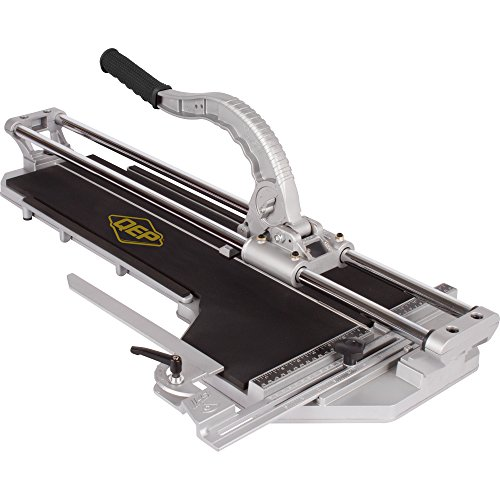 QEP 10600BR 24-Inch Rip and 18-Inch Diagonal Pro Porcelain Tile Cutter with 7/8-Inch Cutting Wheel