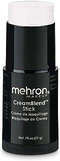 Mehron Makeup CreamBlend Stick (0.75 Ounce) (White)