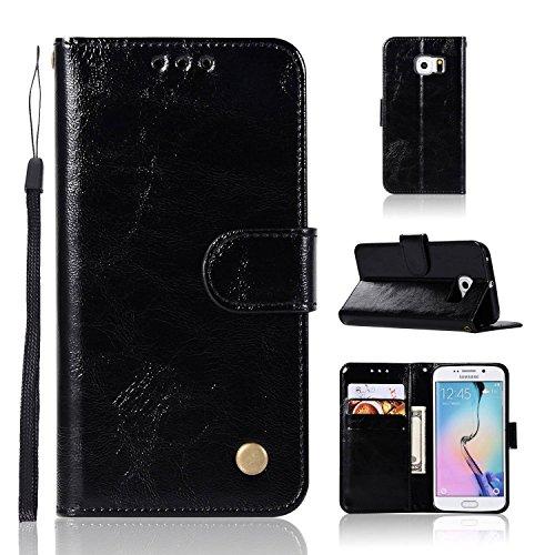 pinlu hoes voor premium PU lederen beschermhoes wallet case met standaard functie en magneetsluiting kaartenvak ontwerp retro crazy Horse patroon