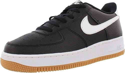 Chaussures Nike Air Force 1-2 (GS) code CI1759-001 - Noir - Noir ...