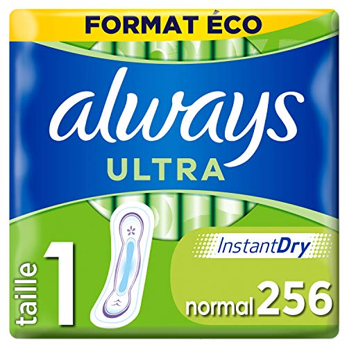 Always Ultra Binden Normal Eco, 256 Stück