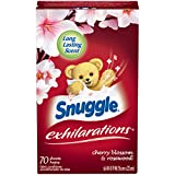 Snuggle Exhilarations Fabric Softener Dryer Sheets