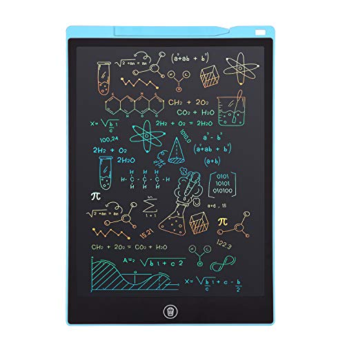 LCD Writing Tablet, Electronic Digital Writing &Colorful Screen Doodle Board, cimetech 12-Inch Handwriting Paper Drawing Tablet Gift for Kids and Adults at Home,School and Office (Blue)