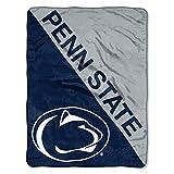 The Northwest Company Penn State Nittany Lions 'Halftone' Micro Raschel Throw Blanket, 46' x 60' , Blue