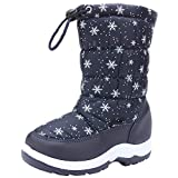 [snofiy] ブーツ キッズ スノーブーツ 女の子 男の子 ジュニア 長靴 保温 防水 スキー 雪遊び 冬用靴 滑り止め