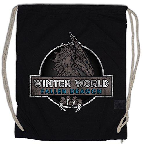 Urban Backwoods Winter World Turnbeutel Sporttasche