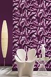 UGEPA papel pintado de fibra húmeda, púrpura, F72906