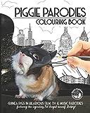 Piggie Parodies Colouring Book: Guinea Pigs in hilarious film, TV & music parodies.