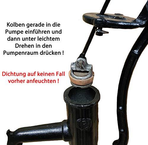 Nostalgie Schwengelpumpe mit Pumpenständer - 6