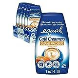 EQUAL Café Coffee Creamers Caramel Macchiato, Low-Calorie Coffee...
