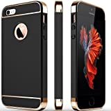 Back Case Cover for Apple iPhone 5/5S | ALDIVO Chrome 3IN1 Luxury Full