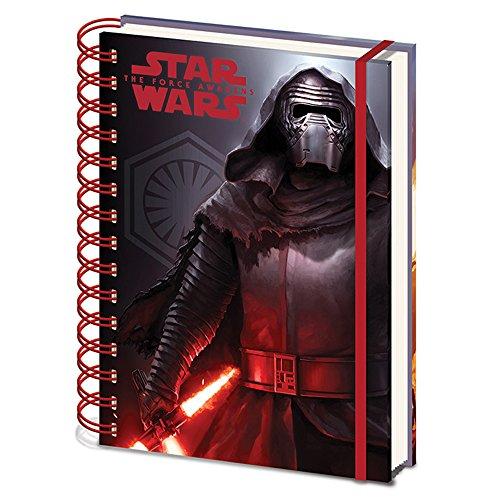 Star Wars Episode VII - Cahier à Spirale A5 Dark