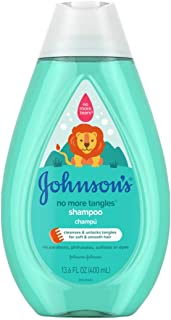 Johnsons Baby Shampoo No More Tangles 13.6 Ounce (400ml) (3 Pack)