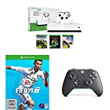 Microsoft Xbox One S 1TB - All Digital Edition [Konsole ohne optisches Laufwerk] + FIFA 19 -...