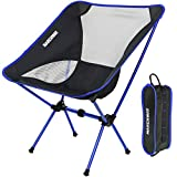MARCHWAY Ultralight Folding Camping Chair, Portable Compact for Outdoor Camp,...