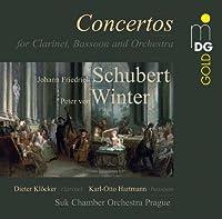 Concertos for Clarinet & Bassoon by KLOECKER / HARTMANN / SUK-CHAMBER ORCHESTRA PRAGUE (2014-04-29)