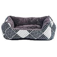 ペットベッド ペットソファー スクエア型 暖かい 耐噛み 滑り止め 中型犬 柔軟快適 保温 防湿 通気性よい ふわふわ ぐっすり眠れる 小型犬 休憩所 柔らか ペット用べッド ふんわり 犬用ベッド XXL