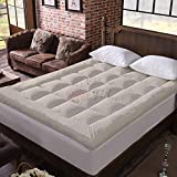 Relaxfeel 600 GSM Microfiber 5 Star Cotton King Size Bed Soft Waterproof Quilted