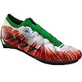 DMT KR1 Tricolor - Zapatillas de ciclismo, color Rojo, talla 38 EU