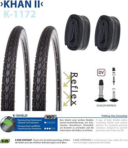 P4B | Komplettes 28 Zoll Fahrrad Reifen Set = 2X 35-622 (28