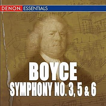 Boyce: Symphonies 3, 5 & 6