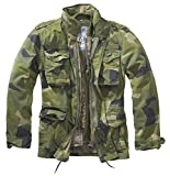 Brandit M65 Giant Jacke Chaqueta, Swedish Camo, 4xl Regular para Hombre