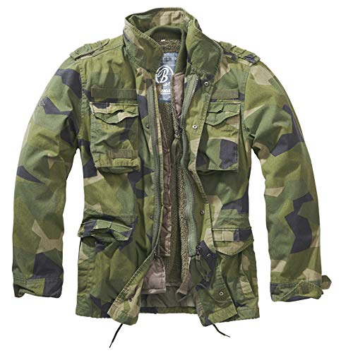 Brandit M65 Giant Jacke Swedish Camo XL