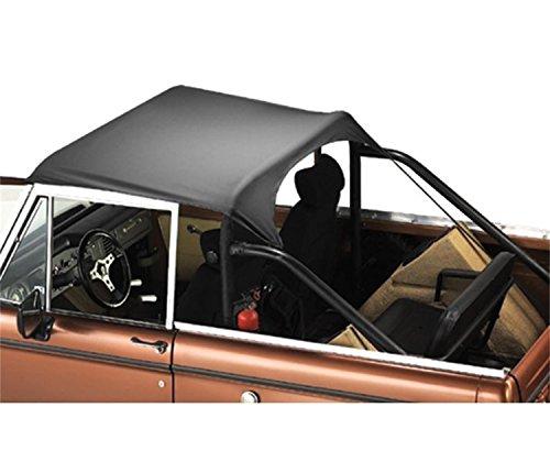 Bestop 5254001 Black Traditional Bikini Top for 1964-1984 Toyota Land Cruiser