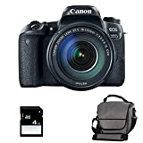 CANON EOS 77D + 18-135 IS USM + Sac + SD 4Go