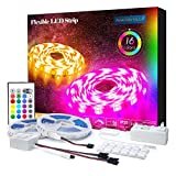 Product Image of the PANGTON VILLA Led Strip Lights 32.8 ft for Bedroom Room Home 5050 Kit with 24...