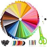 Filzstoff 60 Farben Bastelfilz Farbig Filz Blätter