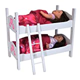 The New York Doll Collection Bunk Bed for Twin Dolls fits 18 Inch Dolls babydolls Mar, 2021