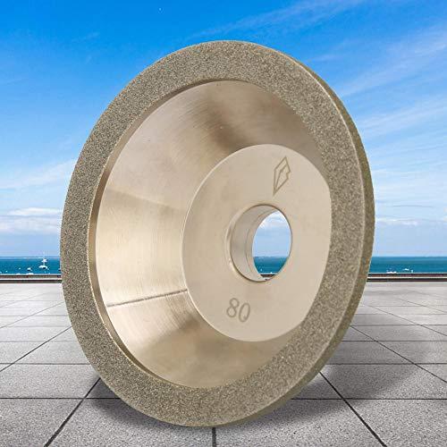 100 * 20 mm galvanische diamant slijpschijf, slijpschijf mok brasive mok voor slijpmachines polijstmachine, geschikt voor marmer, graniet, keramiek, glas (80)