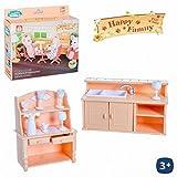 Mobiliario de Cocina de Juguete Happy Family Medidas Caja 13 x 12 cm