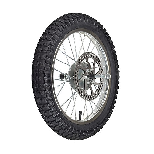 AlveyTech Front Wheel Assembly for Razor MX500 and MX650