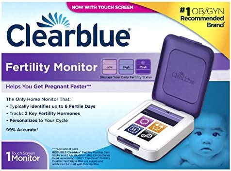 Clearblue Fertility Monitor Test Sticks, 30 count