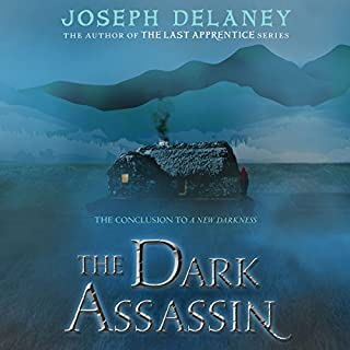 The Dark Assassin audiobook cover art