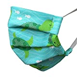 MyFunkins Reusable Cloth Face Masks - Pleated with Adjustable, Comfort-Fit Earloops - Breathable and Washable Cotton Material in Fun and Kid Friendly Patterns - for Kids and Adults