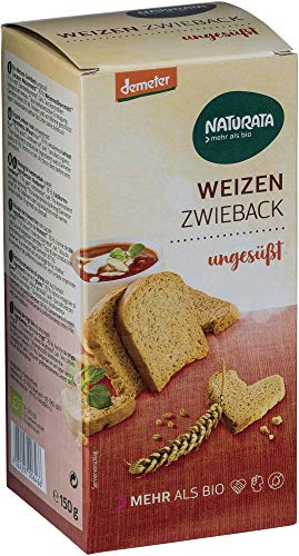 Naturata Bio Weizen-Zwieback ungesüßt (2 x 150 gr)